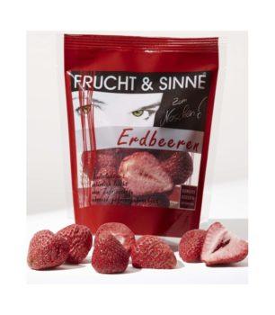 Erdbeeren gefriergetrocknet