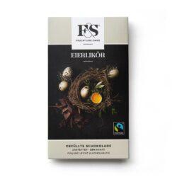 Gefüllte Schokolade Eierlikör Zartbitter